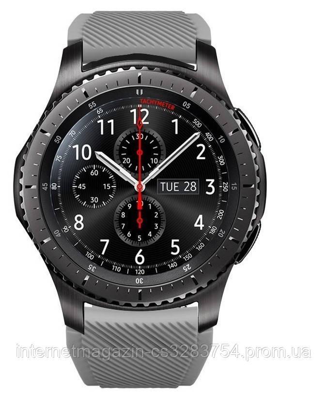 Ремешок 22 мм BeWatch ECO для Samsung Galaxy Watch 46mm | Samsung Gear S3 Темно - серый (1021114.3)