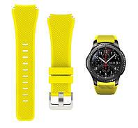 Ремешок 22 мм BeWatch ECO для Samsung Galaxy Watch 46mm | Samsung Gear S3 Желтый (1021120.3), фото 1