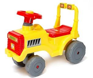 Машинка для катанияя БЕБИ ТРАКТОР лимон ОРИОН 931