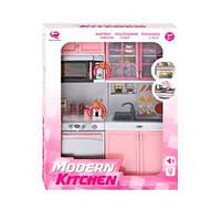 Мебель QF26216P кухня,32-24-7см,микроволн,мойка,звук,свет,посуда,бат(табл),в кор, 27-35-9,5см