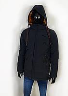 Куртка мужская зимняя удлиненная 50