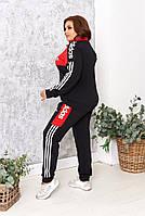 Женские спортивные костюмы больших размеров, Модні жіночі костюми великі розміри, фото 2
