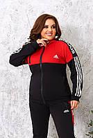 Женские спортивные костюмы больших размеров, Модні жіночі костюми великі розміри, фото 3