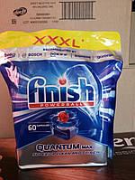 Таблетки для посудомоечных машин  Финиш Квантум Finish Quantum  60 шт