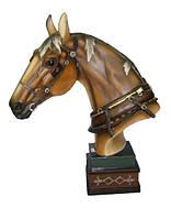Статуэтка КОНЬ h- 45 cm. Статуэтка лошадь. Большие статуэтки. Подарки статуэтки. Статуэтки.