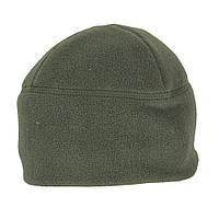 Милитарка™ шапка флисовая двойная олива