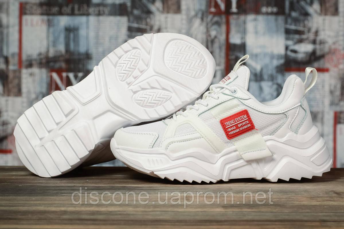 Кроссовки женские 10382 ► BaaS Ploa, белые ✅Скидка 33% [ 38 ] ► (38-24,1см)