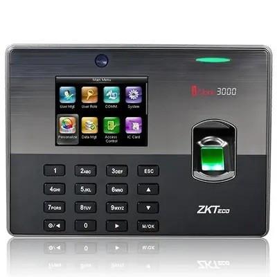 Біометричний термінал УРВ і контролю доступу по відбитку пальця і карт EM-Marine ZKTeco iClock3000/ID
