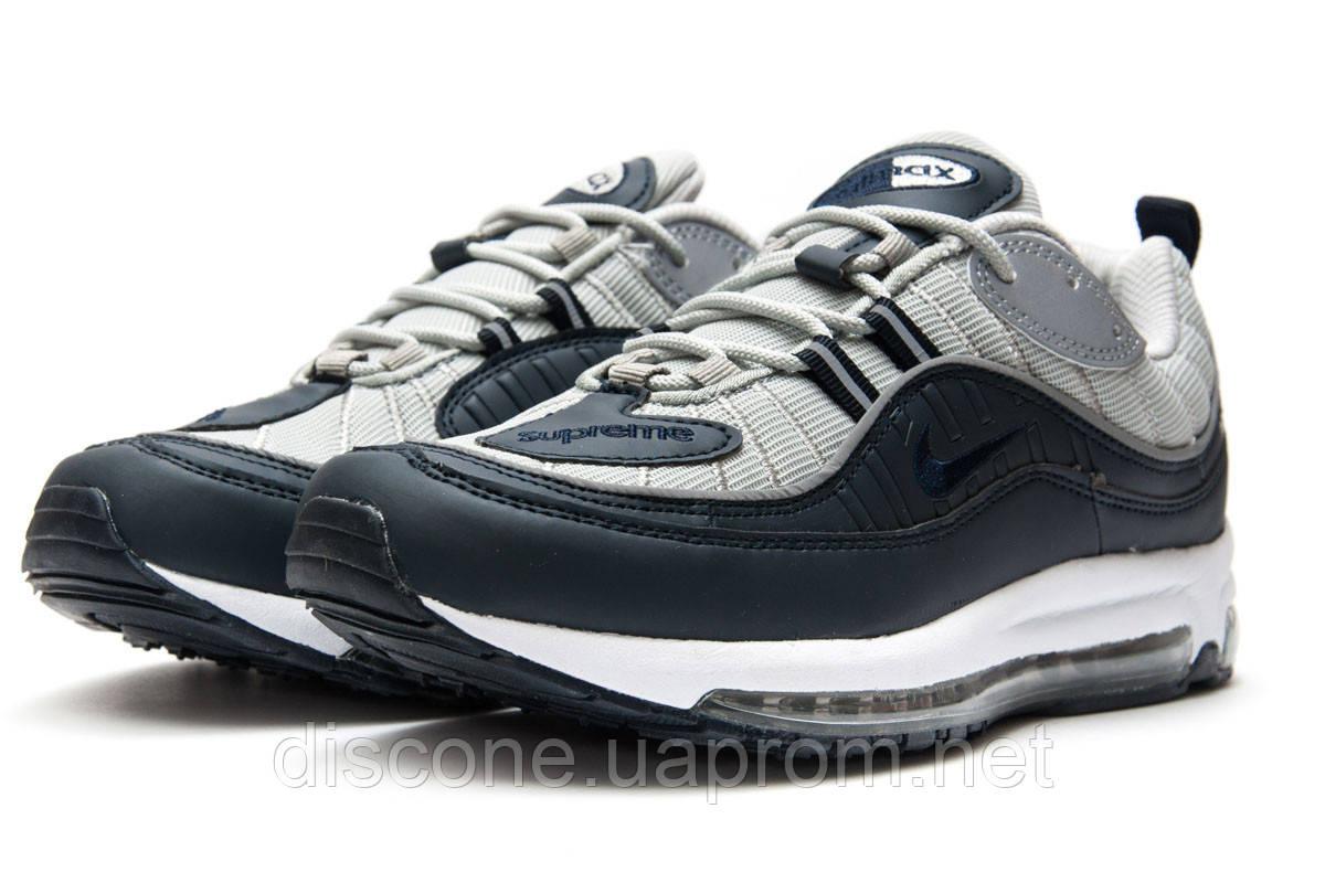 Кроссовки мужские 12674 ► Nike Aimax Supreme, темно-синие ✅SALE! 36% [ 42 ] ► (42-26,4см)