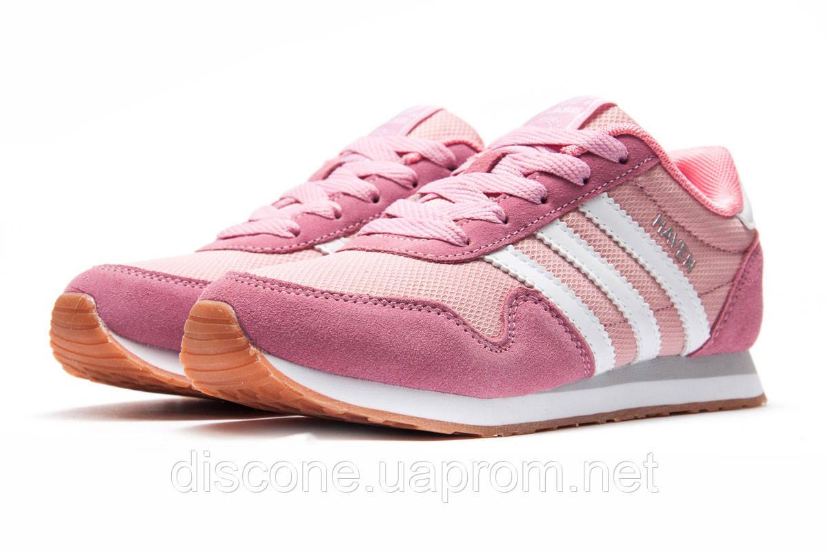 Кроссовки женские 12793 ► Adidas Haven, розовые ✅Скидка 30% [ 39 40 41 ] ► (39-24,3см)