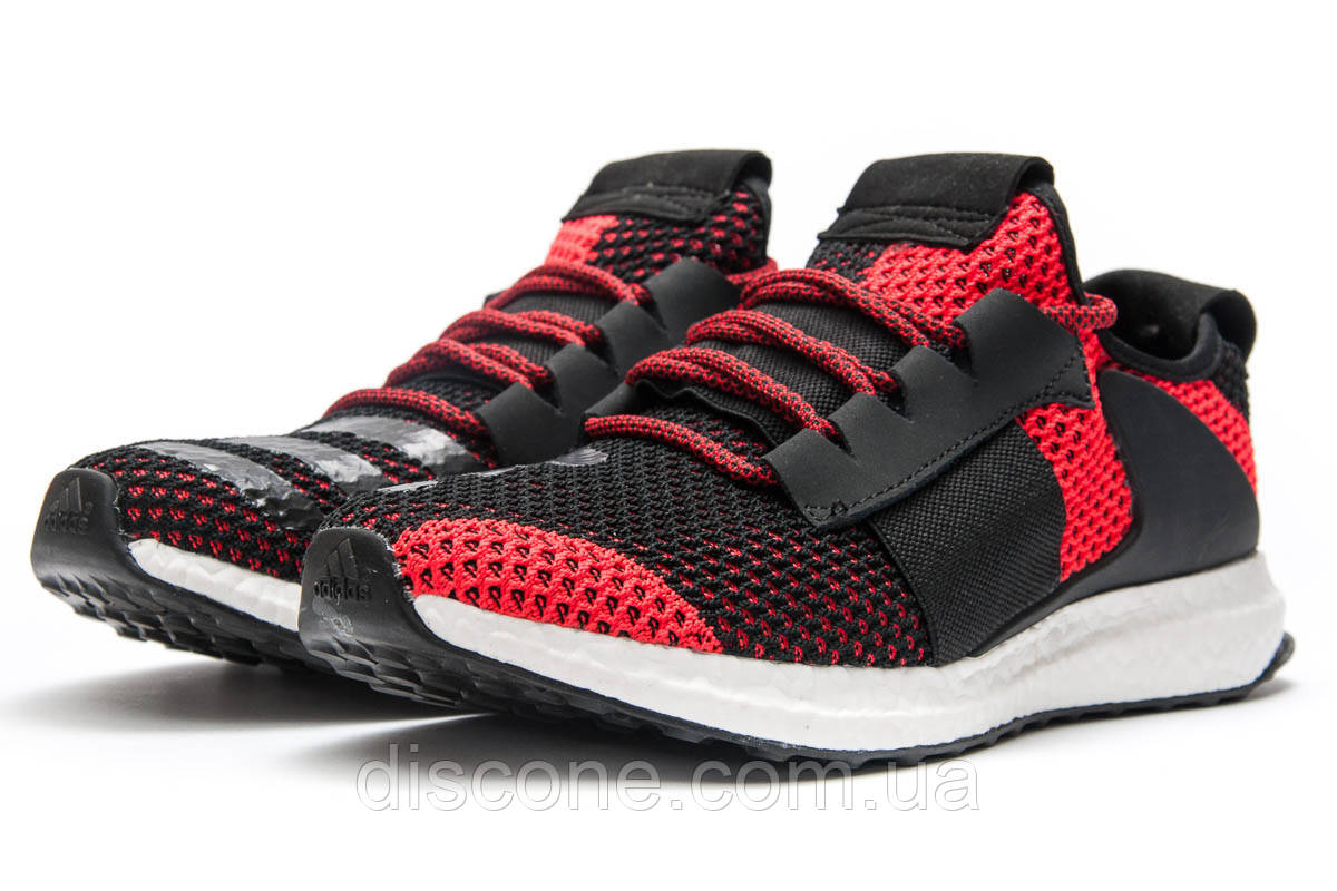 Кроссовки мужские 12864 ► Adidas  Day One, красные ✅Скидка 30% [ 41 44 ] ► (41-26,3см)