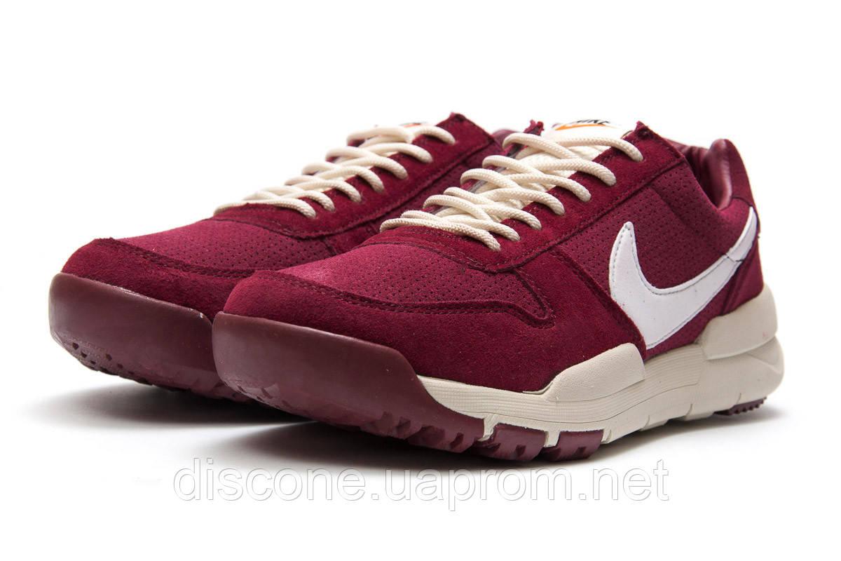 Кроссовки мужские 13155 ► Nike Apparel, бордовые ✅SALE! 27% [ 44 ] ► (44-27,7см)
