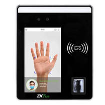 Терминал для контроля доступа и УРВ по отпечатку пальца и геометрии лица ZKTeco SpeedFace-H5 (Android)