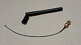 WIFI антенна ( папа ) 2.4 GHz SMA IPEX с кабелем, фото 2