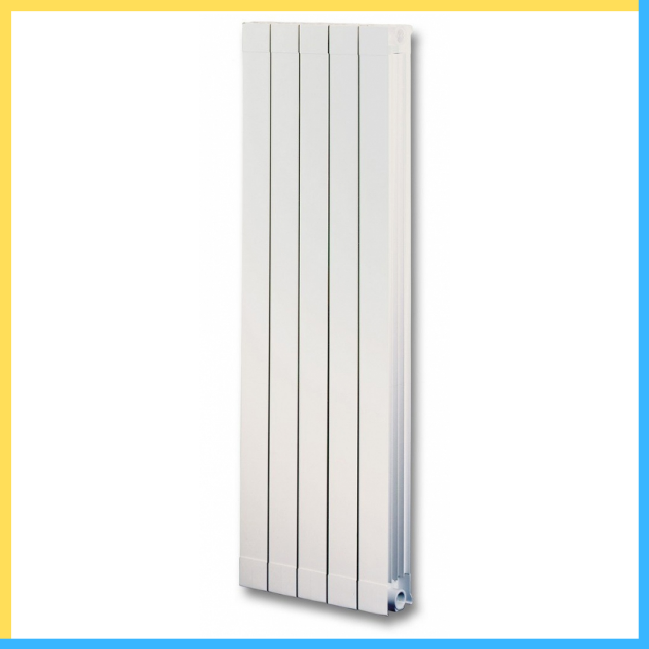 Алюминиевый радиатор Global Oskar 80/1600