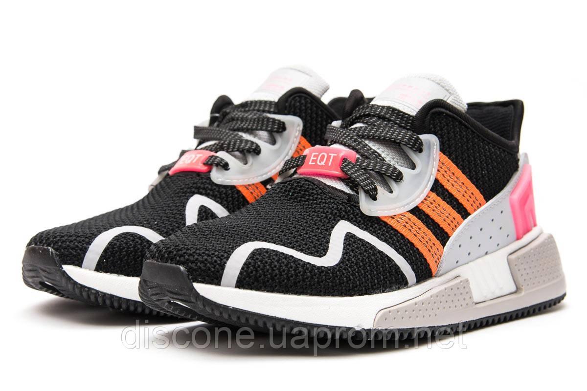 Кроссовки женские 13691 ► Adidas EQT Cushion ADV, черные ✅Скидка 28% [ 36 37 40 ] ► (36-23,1см)