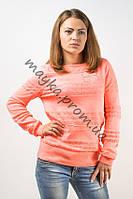 Кофта женская оранжевая хлопок размер 46-48 AL28