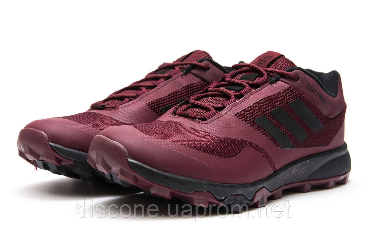 Кроссовки мужские 13895 ► Adidas Climacool 295, бордовые ✅Скидка 28% [ 41 44 ] ► (41-25,9см)
