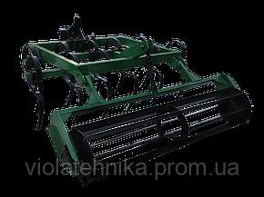 Культиватор сплошной обработки КН - 1 пружинный с катком Володар (для мотоблоков), фото 2