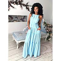 Платье длинное макси  в пол Динара 1065