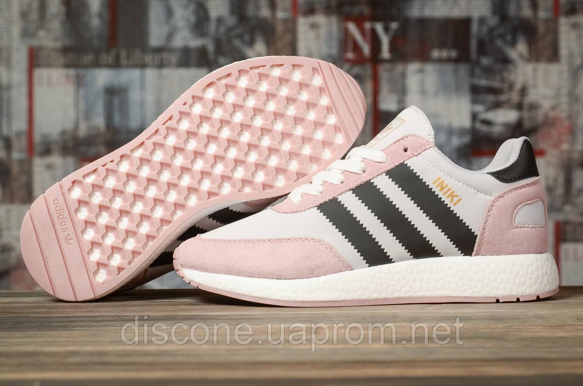 Кроссовки женские 16872 ► Adidas Iniki, розовые ✅Скидка 28% [ 37 ] ► (37-23,0см)