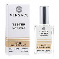 Тестер Versace Eros Pour Femme женский, 60 мл