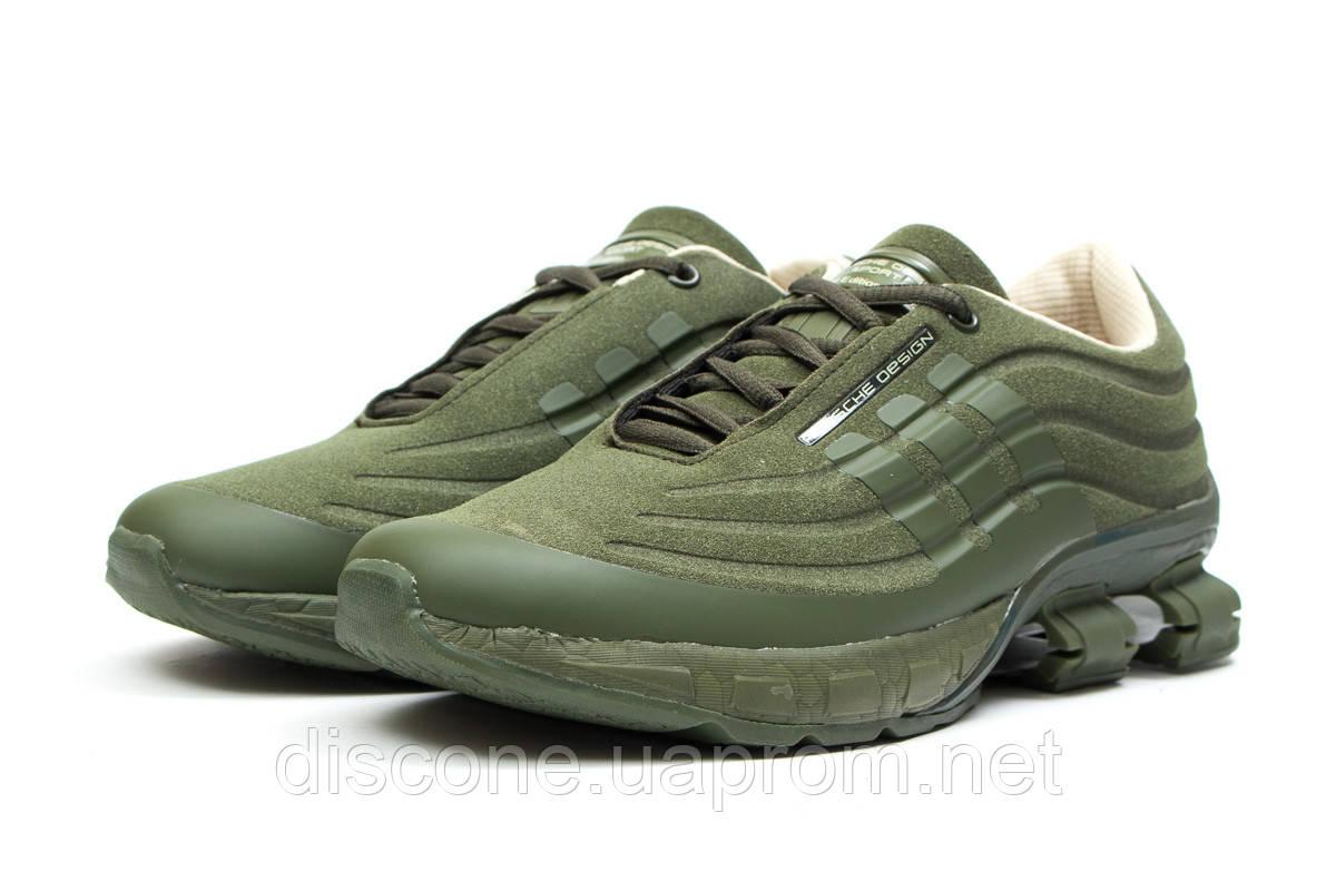 Кроссовки мужские 14735 ► Adidas Porsche Desighn, зеленые ✅SALE! 33% [ 42 44 45 ] ► (42-27,0см)