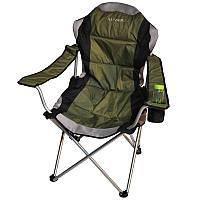 Кресло-шезлонг складное туристическое Ranger Скаут FC 750-052 (1070х630х960мм), олива