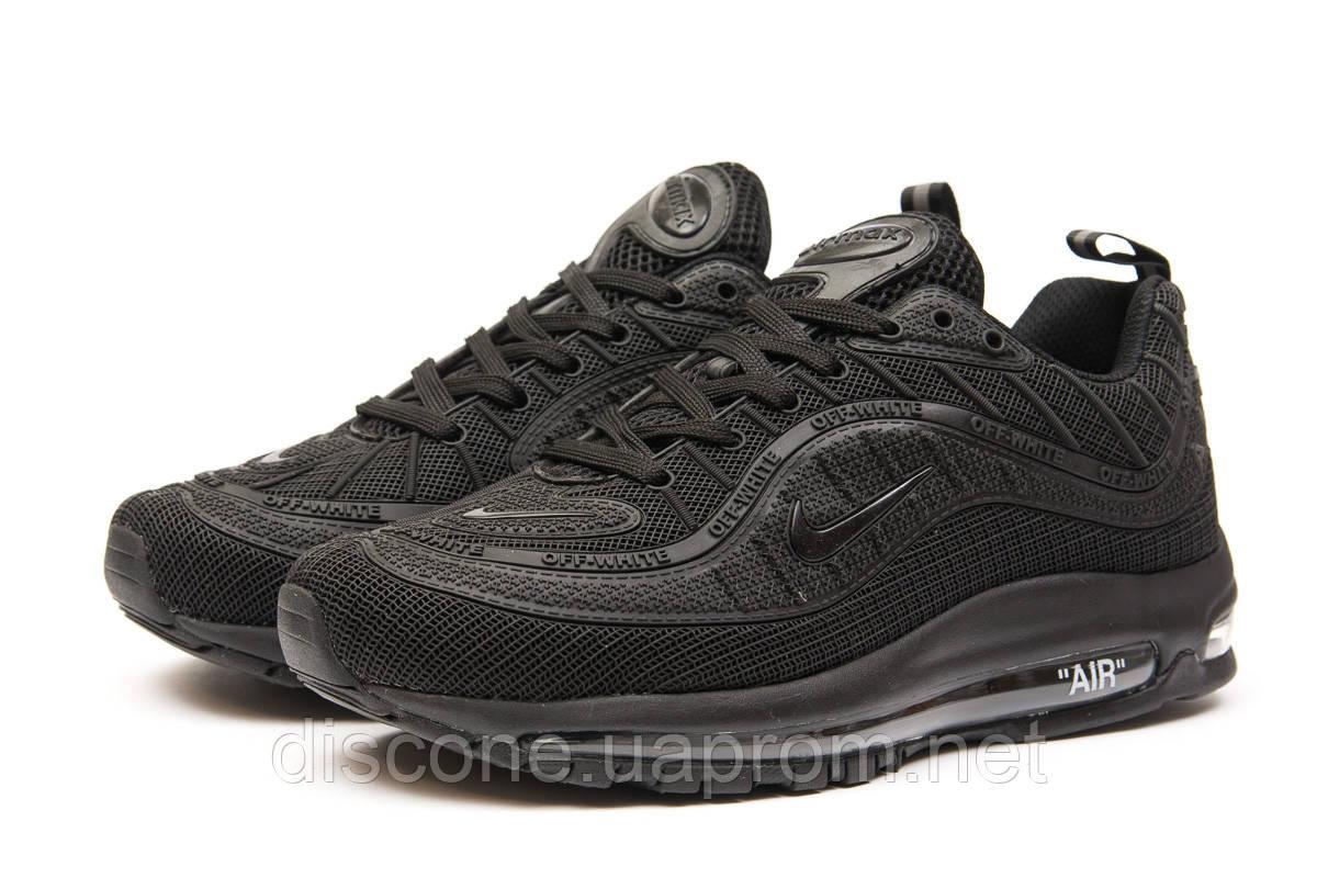 Кроссовки мужские 15261 ► Nike Air Max, черные ✅SALE! 29% [ 41 44 46 ] ► (41-26,3см)