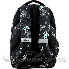 Рюкзак для девочки подростка ортопедический Kite Education цветы K20-903L-3, фото 3