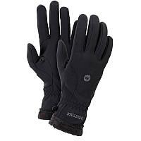 Перчатки женские MARMOT Wm's Fuzzy Wuzzy Glove, черные (р.L)