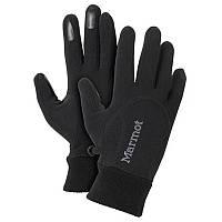 Перчатки женские MARMOT Wm's Power Stretch Glove, черные (р.XS)