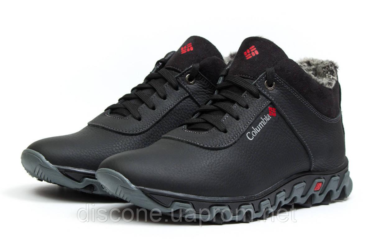 Зимние мужские ботинки 30693 ► Columbia Track II, черные ✅SALE! 38% [ 40 42 ] ► (40-26,6см)