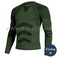 Термокофта мужская Lasting Apol (150 г/м2, S/M), зеленая