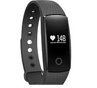 Фитнес-браслет смарт часы ID107 черный