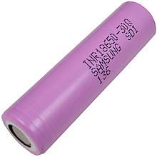 Аккумулятор литиевый Samsung INR 18650 30Q (3.7V, 15A, 3000mAh)