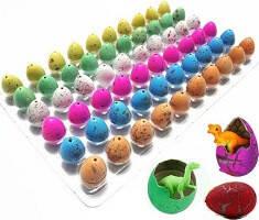 Яйца с динозаврами (Орбизы) из гидрогеля растущие в воде