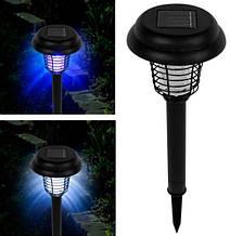Садовий ліхтар з захистом від комарів, на сонячній батареї