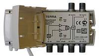 TERRA HS017 (1 общий вход [МВ+ДМВ], 4 выхода, усиление 18-20дБ, серия CABRIO)