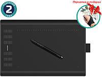 Графический планшет Huion New 1060Plus + перчатка