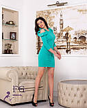 """Женское платье с воланами на плечах """"Глэдис"""", фото 3"""