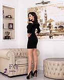 """Женское платье с воланами на плечах """"Глэдис"""", фото 8"""
