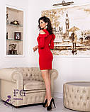 """Женское платье с воланами на плечах """"Глэдис"""", фото 10"""