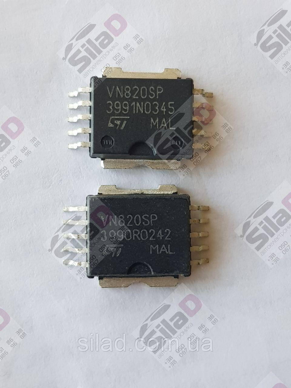 Мікросхема VN820SP STMicroelectronics корпус PowerSO-10