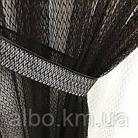 Штори і тюль в дитячу кімнату спальню, штори з сітки на кухню, штори для залу кімнати кабінету 200x270 cm (2 шт) і тюль 400x270 cm, фото 10