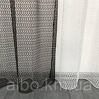 Штори і тюль в дитячу кімнату спальню, штори з сітки на кухню, штори для залу кімнати кабінету 200x270 cm (2 шт) і тюль 400x270 cm, фото 4