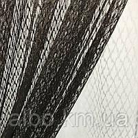 Штори і тюль в дитячу кімнату спальню, штори з сітки на кухню, штори для залу кімнати кабінету 200x270 cm (2 шт) і тюль 400x270 cm, фото 9