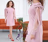 """Нарядное платье с сеткой на рукавах """"Melody"""", фото 5"""