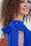 """Нарядное платье с сеткой на рукавах """"Melody"""", фото 8"""