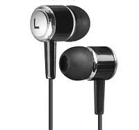 Навушники вакуумні Defender Pulse 427 (гарнітура) black/silver+мікрофон